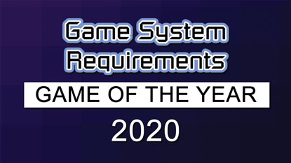 GSR: Game of the Year Award 2020 is now live