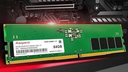 DDR5-4800-as memóriát jelentett be az Asgard