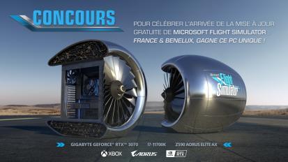 Egy egyedi Flight Simulator PC-t ajándékoz el a Microsoft