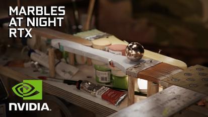 Letölthetővé vált az Nvidia Marbles RTX demó