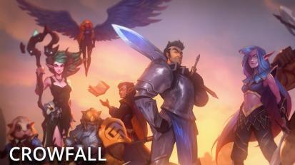 Hamarosan megjelenik a Crowfall, a Kickstarter egyik legsikeresebb MMORPG-je