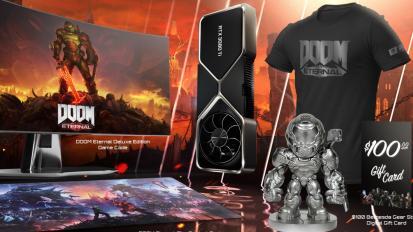 Limitált DOOM Eternal GeForce RTX 3080 Ti csomagot jelentett be az Nvidia