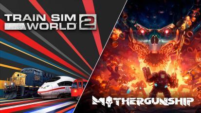 Ingyenesen beszerezhető a Train Sim World 2 és a Mothergunship