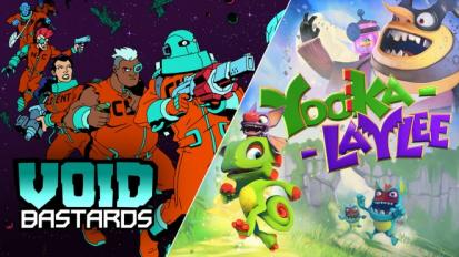 Void Bastards and Yooka-Laylee are free for a limited time