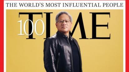Az Nvidia vezérigazgatója felkerült a világ 100 legbefolyásosabb emberének listájára