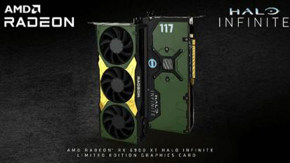 Bemutatkozott az AMD Radeon RX 6900 XT Halo Infinite grafikus kártya