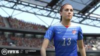 Először lesznek női válogatottak a FIFA 16-ban