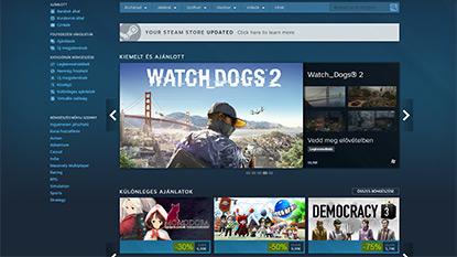 A legújabb Steam frissítés könnyebbé teszi a játékok felfedezését