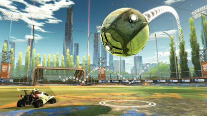 Rocket League is getting custom training mode cover