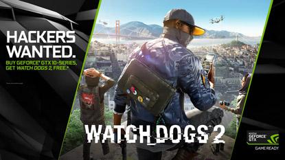 Ingyenes Watch Dogs 2 jár az újabb Nvidia kártyák mellé