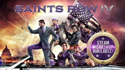 Saints Row IV getting Steam Workshop support cover