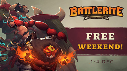 Battlerite is free to play on Steam this weekend