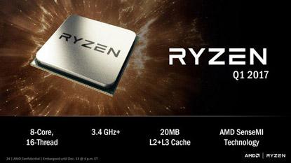 Ilyen teljesítményre képes az AMD RYZEN CPU cover