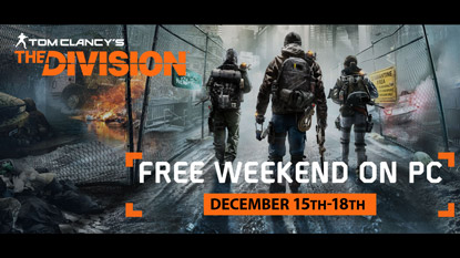 The Division is free on PC this weekend