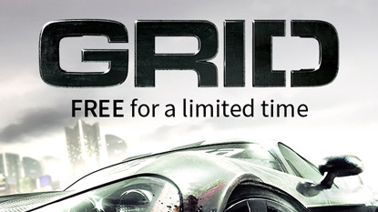 Grid is free for PC through the Humble Store cover