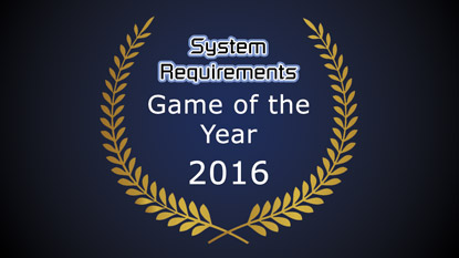 GSR: Game of the Year Award 2016 Result
