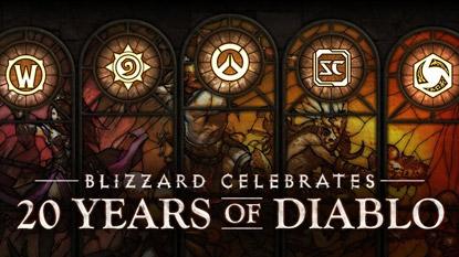 Ünnepeld a Diablo 20. évfordulóját a Blizzard játékaiban!