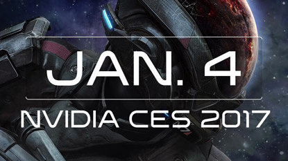 Mass Effect: Andromeda will be at Nvidia's CES 2017 keynote cover
