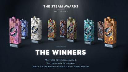 A Valve közzétette az első Steam Awards eredményeit