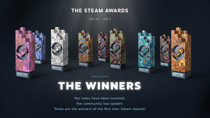 Steam Awards winners announced cover