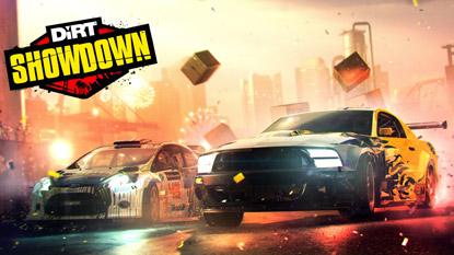 Ingyenesen beszerezhető a DiRT Showdown cover