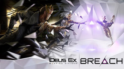 Deus Ex: Breach is now free-to-play on Steam cover
