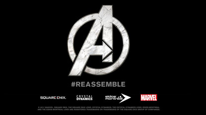 Square Enix partners with Marvel for The Avengers Project cover