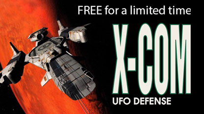 X-COM: UFO Defense is free on PC cover