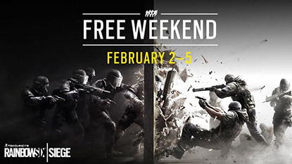 Rainbow Six Siege's free weekend is now live
