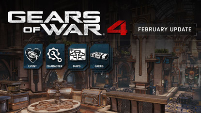 Gears of War 4's February update is out now, Valentine's day event coming cover